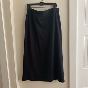 LL Bean long knit skirt